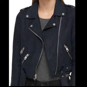 Levi's Faux Suede Moto Jacket